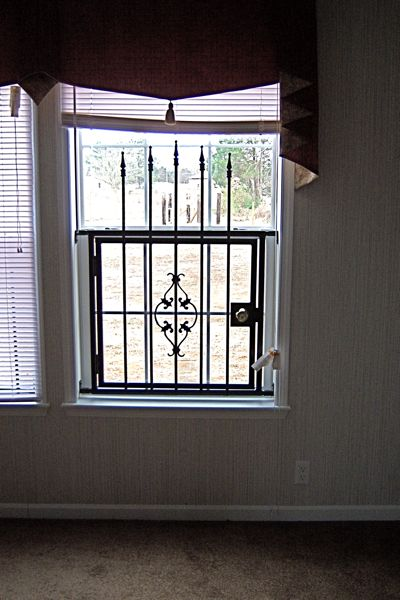 Kenneth guenther construction window guards for Window guards